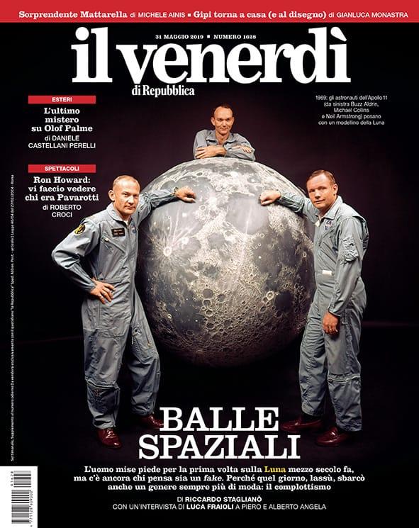 La Rebubblica sbarco Luna