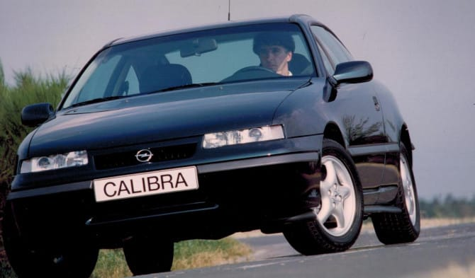 Opel Calibra, 30 anni di gloria
