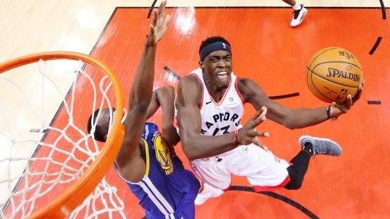 Basket, Finals Nba: sorpresa Toronto, Golden State ko in gara-1