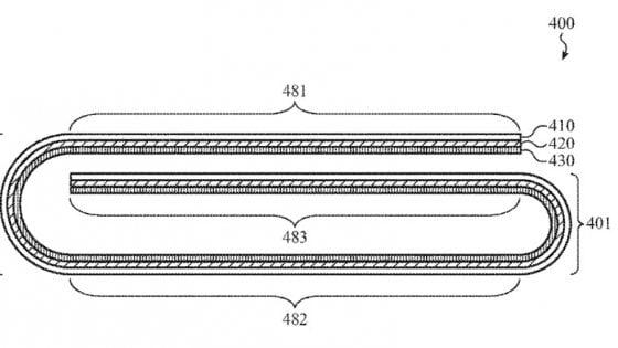 Apple brevetta un dispositivo pieghevole. Il parterre è al completo