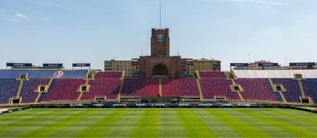 """I non vedenti assistono alla partita: così a Bologna lo stadio è """"par tòt"""""""