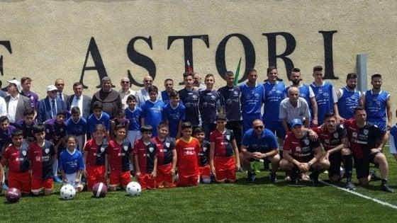 Nel nome di Astori: a Betlemme, un campo di calcio per la pace