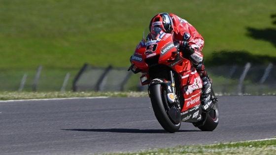 MotoGp, Gp Italia: Petrucci vola nelle terze libere, Dovizioso e Rossi in difficoltà