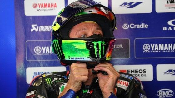 MotoGp, Gp Italia; Rossi: Siamo lenti, ma non so perché