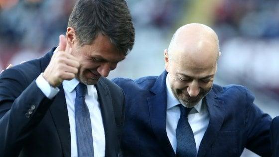 Milan, Gazidis lo rassicura: Maldini verso il sì