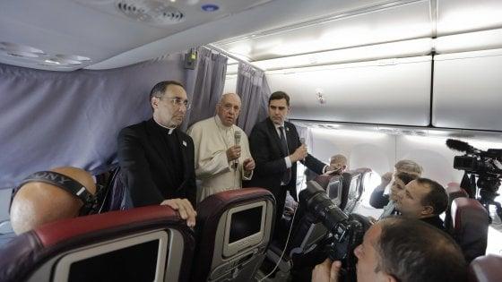 """Papa Francesco: """"Un politico non deve mai seminare odio e paura, ma speranza"""""""