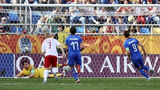 Mondiali Under 20, Italia-Polonia 1-0, un rigore di Pinamonti lancia gli azzurri ai quarti