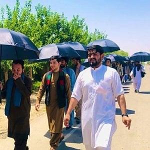 Afghanistan, una coraggiosa marcia per la pace nella roccaforte dei talebani