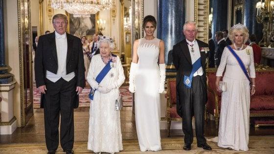 Trump a Londra, e il principe Harry boicotta il banchetto con il presidente
