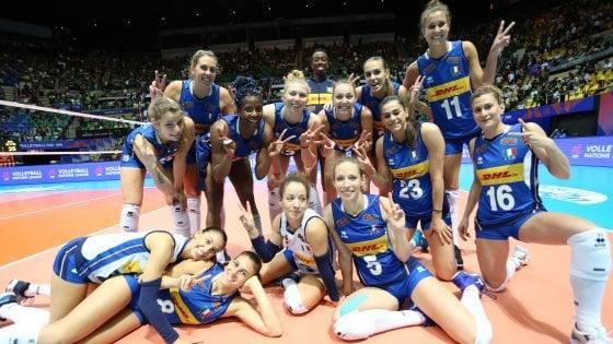 Volley, Nations League: Italia-Olanda 3-1, debutto vincente nel 3° round