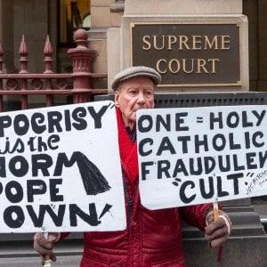 Australia, iniziato processo d'appello al cardinale Pell a ccusato di pedofilia