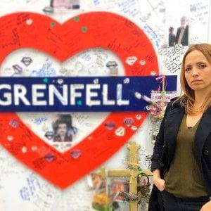La psicologa italiana che assiste i sopravvissuti dell'incendio alla Grenfell Tower