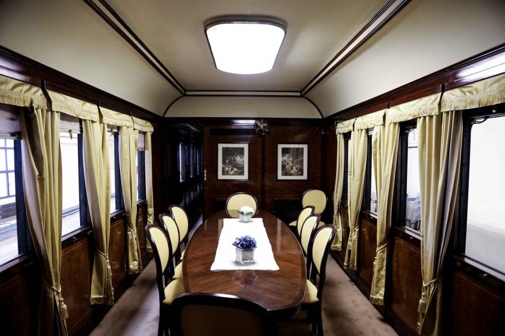 Alla scoperta del treno presidenziale
