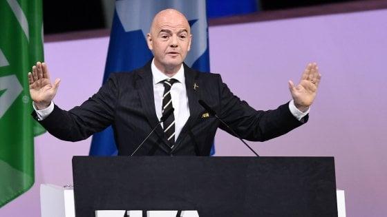 Fifa, Infantino rieletto presidente