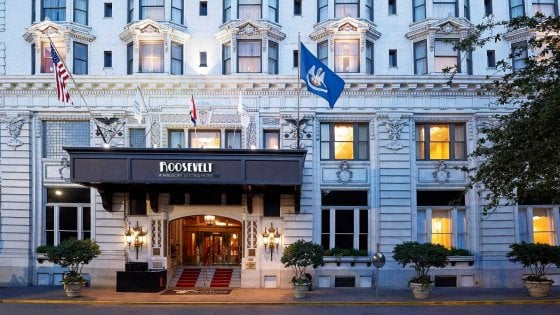 New Orleans, Restituite i memorabilia al Roosevelt Hotel: potreste vincere una settimana da sogno