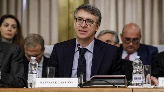 """Sblocca-cantieri, Cantone: """"Da modifiche Lega-5S rischi corruzione"""".  Zingaretti: """"È un blocca-Italia"""""""