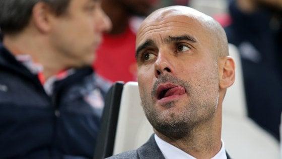 Guardiola giura amore al Manchester City: ''Non c'è posto migliore''