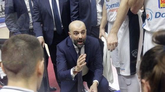 Basket, Buscaglia nuovo allenatore di Reggio Emilia