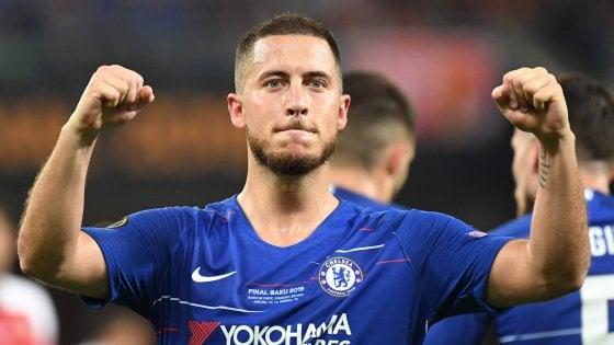 Real Madrid, ufficiale l'arrivo dal Chelsea di Hazard