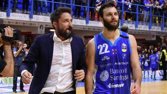 Basket, Sassari; Pozzecco: Non mi spaventa lidea di non vincere lo scudetto