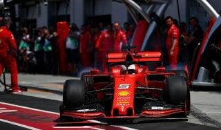 F1, Gp Canada: Ferrari davanti anche nelle terze libere, Vettel il più veloce