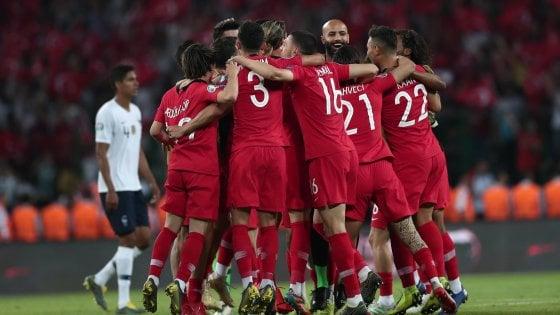Qualificazioni Europei 2020: la Francia cade in Turchia, tutto facile per Germania e Belgio