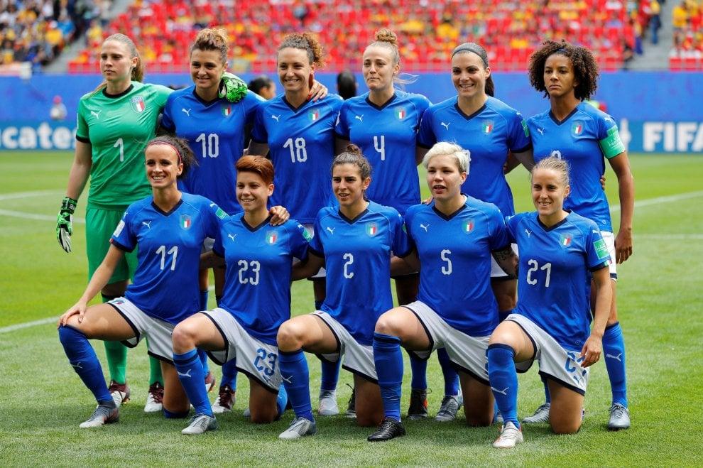 Mondiale femminile, il film di Italia-Australia