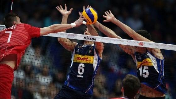 Volley, Nations League: Italia sconfitta dalla  Russia