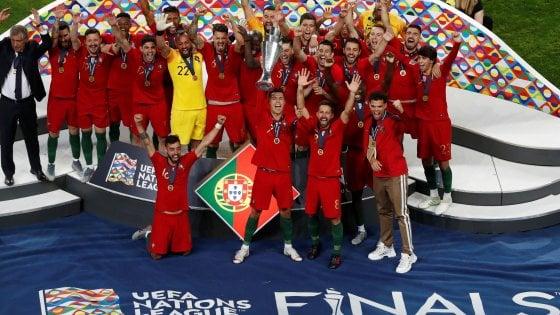 Nations League; Portogallo-Olanda 1-0: Guedes fa il Ronaldo, trofeo ai lusitani
