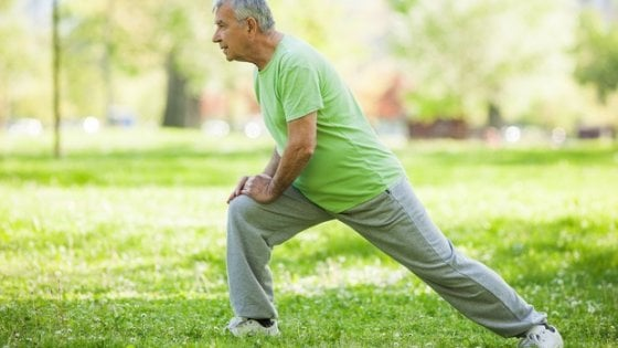 esercizio fisico e dieta a riposo