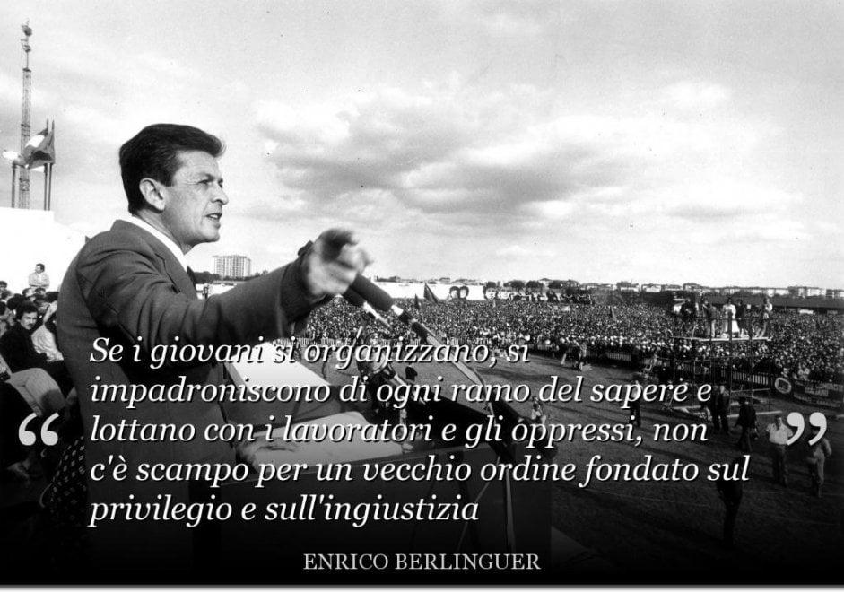 Enrico Berlinguer Le Sue Citazioni Più Celebri Repubblica It