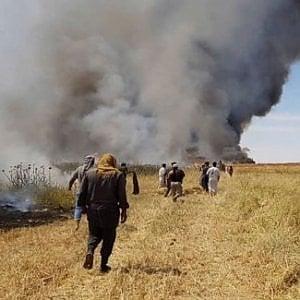 Iraq, migliaia di ettari di raccolti incendiati dallIS:  grave danno per l'economia