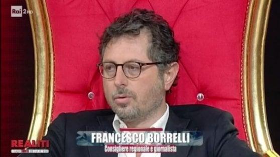 """'Realiti', minacce a Borrelli e oltraggio a Falcone e Borsellino. La Rai apre un'inchiesta, Salini: """"Chiediamo scusa"""""""