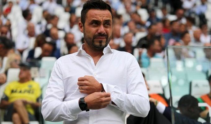 Sassuolo, De Zerbi: ''Mai avuto dubbi. Resto e sogno la Champions''