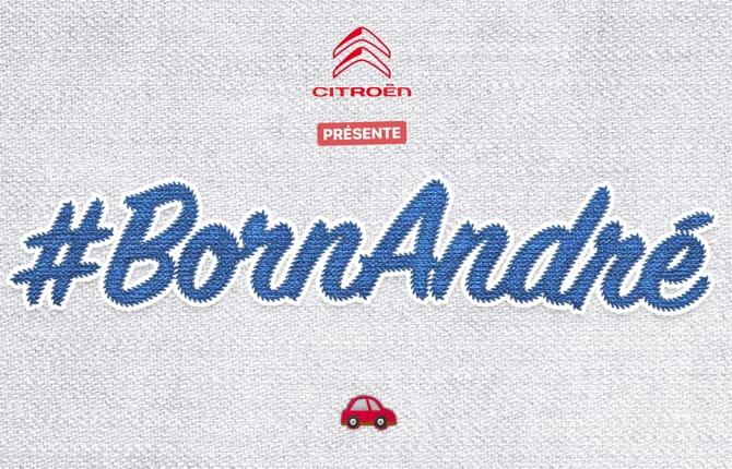 #BornAndré Citroen, che concorso