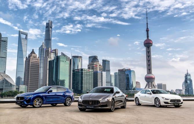 Maserati, al via il Gran Tour in Cina