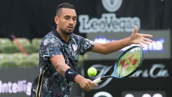 Tennis, Berrettini parte forte a Stoccarda: Kyrgios dominato in due set