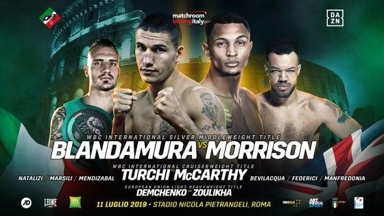 Boxe, da Turchi a Blandamura: grande notte al Foro Italico di Roma