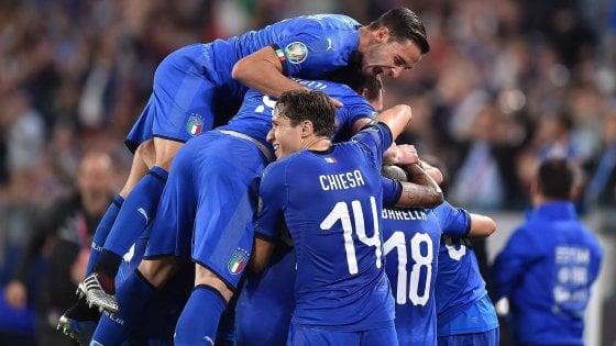 Qualificazioni Europei 2020, Italia-Bosnia 2-1: Insigne e Verratti regalano agli azzurri il quarto successo di fila