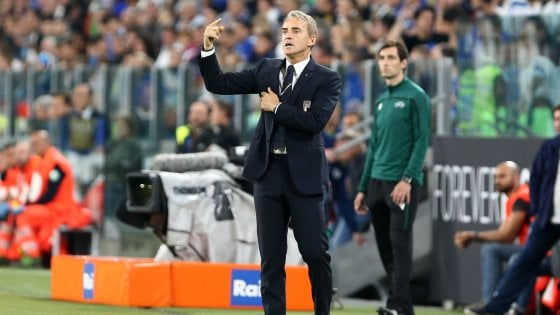 """Nazionale, Mancini: """"Ripresa dominata, la vittoria è meritata"""""""