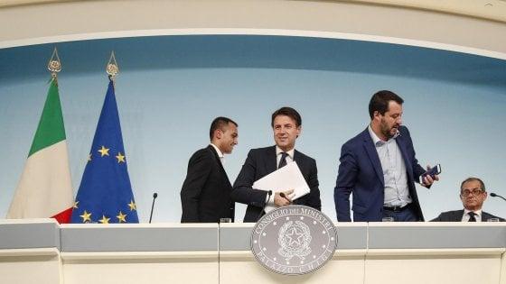 """Conti pubblici, il vertice di governo non è decisivo. Salvini: """"Utile, abbiamo iniziato un percorso"""""""