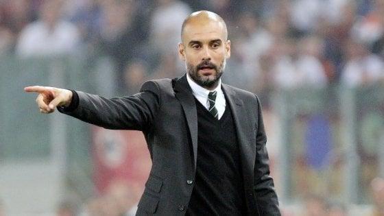 """Guardiola: """"Ho due anni di contratto, se non mi cacciano resto al City''"""