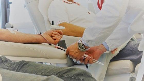 Donazione di sangue in aumento,  in Friuli Venezia-Giulia i più generosi