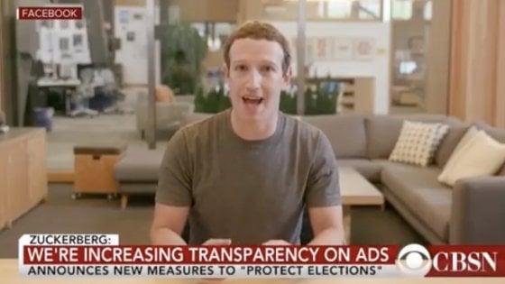 """Zuckerberg: """"Chi controlla i dati, controlla il futuro"""". Ma il video è un falso"""