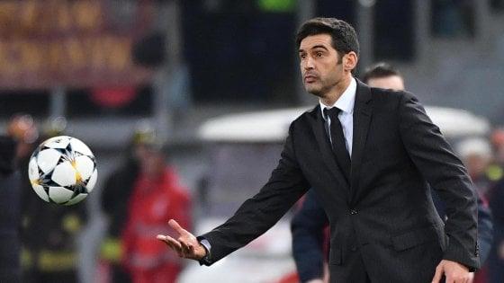 """Roma, Fonseca: """"Voglio coraggio, i tifosi dovranno essere orgogliosi di noi"""""""