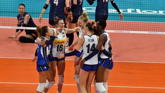 Volley, Nations League donne: l'Italia non si ferma, Corea del Sud battuta 3-1