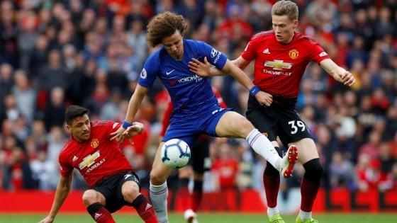 Premier League: prima giornata col botto, subito Manchester United-Chelsea