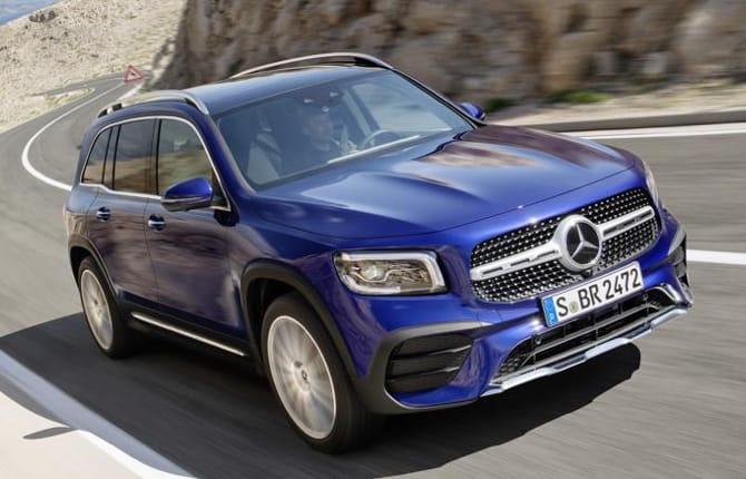 Nuova Mercedes GLB, da concept a realtà