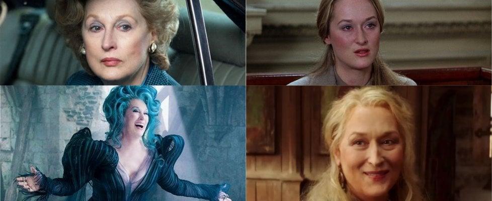 """Meryl Streep, i mille volti dell'attrice dei record. """"Il mio modello? Le italiane"""""""