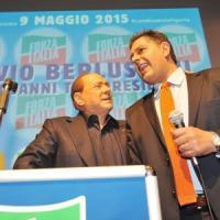 """Fi, scintille tra Toti e Berlusconi. Il leader azzurro: """"Il futuro è con la Lega"""". E..."""